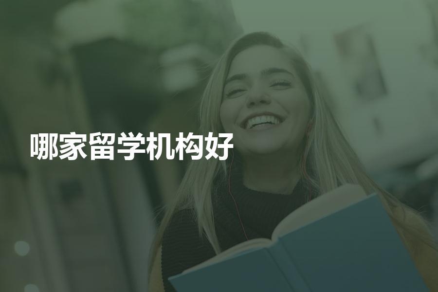 想留学找哪家留学机构办理比较好?经验分享告诉你!