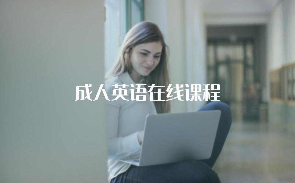 成人英语在线课程都有哪些机构有?哪家机构好?